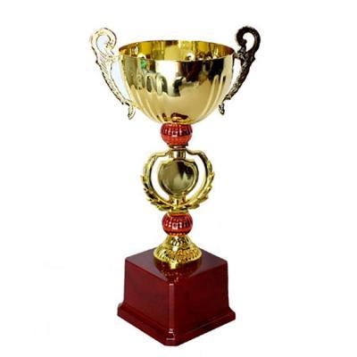 대회용 우승 시상트로피 (골드BIG컵 / 28cm철재)