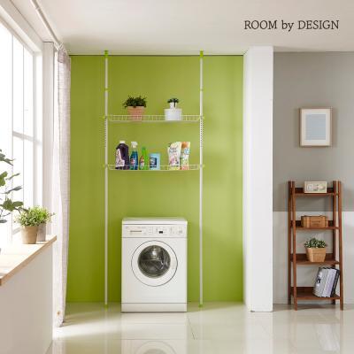 고정식 세탁기선반 2단(그린)