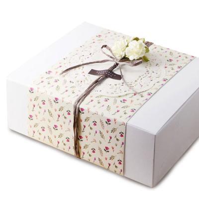 모던 화이트 선물상자-5 (2개)