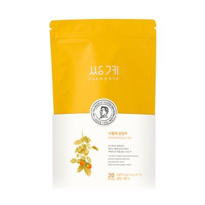 [쌍계명차] 신파우치 사월에 감잎차 (20티백)