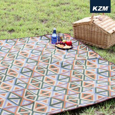 [카즈미] 감성 캠핑매트 (타탄/M) K5T3M008