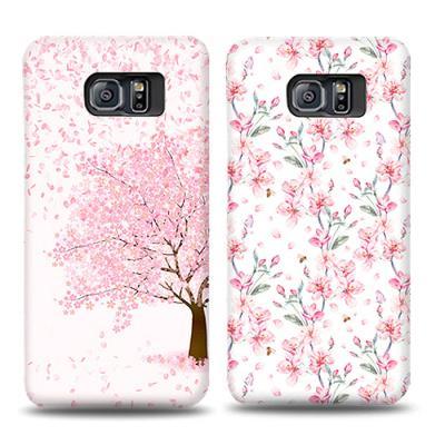 프리미엄 카드수납벚꽃날리는 날(갤럭시S20플러스)