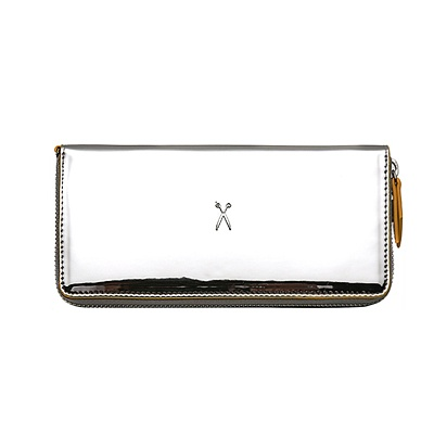 Easypass OZ Wallet Long Mirror Silver