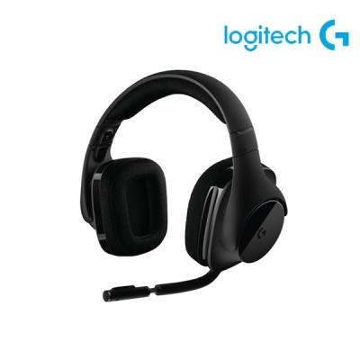 로지텍 무선 DTS 7.1 서라운드 게이밍 헤드셋 G533