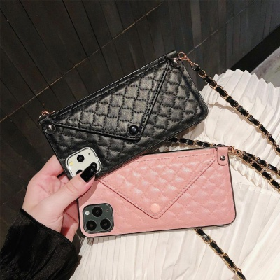 아이폰11 PRO XS SE2 8 카드 핸드폰 목걸이 폰케이스