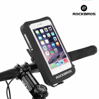 락브로스 자전거 휴대폰거치대 가방 터치 방수 AS-044