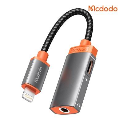 맥도도 Lite 듀얼젠더 3.5mm AUX 오디오+8핀 충전