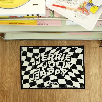 MJH 논슬립 홈데코 체커보드 발매트