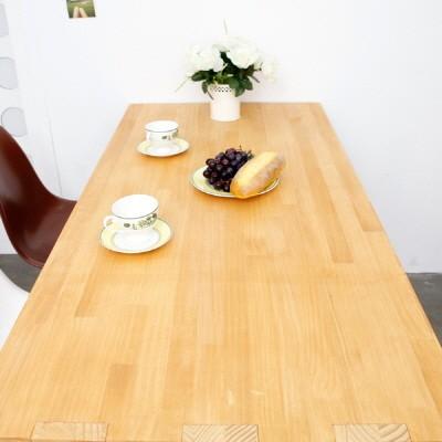 란 원목테이블
