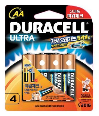 듀라셀 울트라 AA(4알)