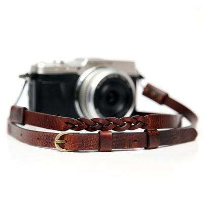 씨에스타 가죽 카메라스트랩 MANO-M CSS-HMM-A01 - 지아노브라운