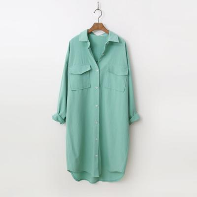 Color Bio Cotton Long Shirts