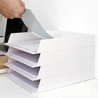 오피스 데스크 A4용지 서류보관 OFFISYS 문서 트레이