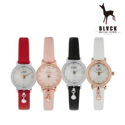 [블랙마틴싯봉] 여성 가죽 손목시계 BKL1902L