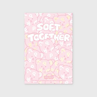 Soft together bear-pink(엽서)