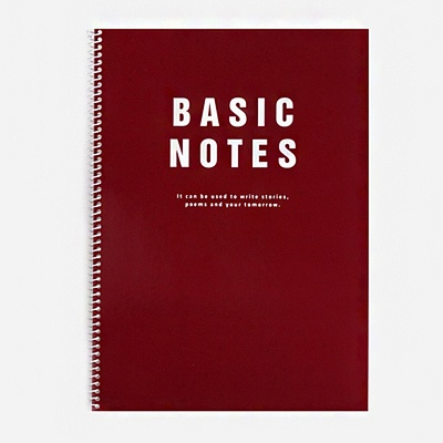 SPRING NOTE_ BASIC - CHERRY PINK
