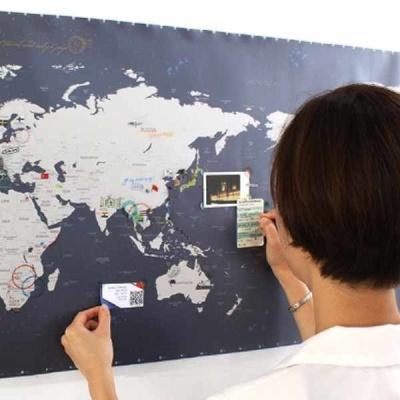 정품_세계지도 월드맵 인테리어지도 세계지도인테리어