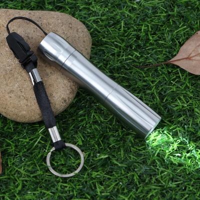 휴대용 라이트 LED 후레쉬(실버)