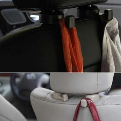 차량용 옷걸이 다용도 후크 뒷좌석 소품 가방 걸이