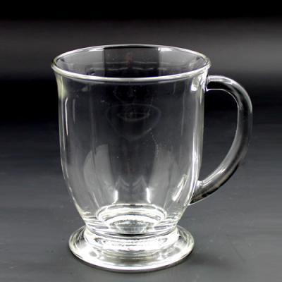 [마누크리스탈]테이블세팅시 세련된 글라스락 비너스커피머그잔(1P)강화유리