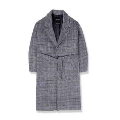 heavy wool single coat_gb 체크코트 남성코트 코트