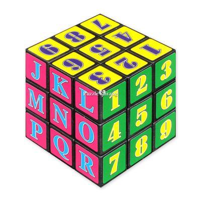 3x3 매직큐브 (숫자와 알파벳) - 매직큐브
