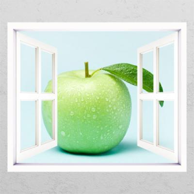 ts311-풋내나는사과(한개)_창문그림액자
