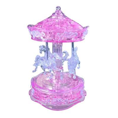 83피스 크리스탈퍼즐 - 회전목마 (핑크)