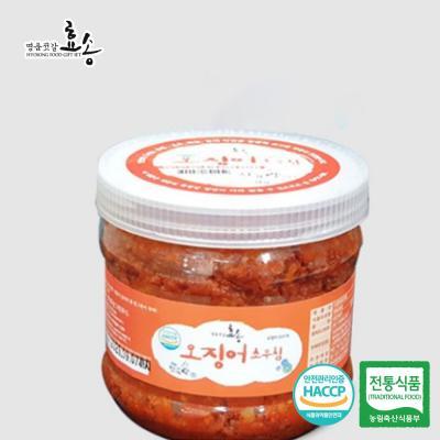 군산 효송 젓가락 오징어초무침 1kg
