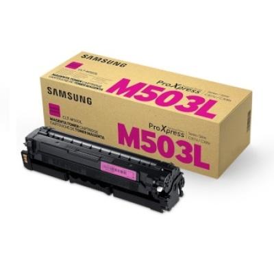 삼성 정품 토너 CLT-M503L 적색 토너