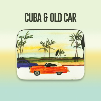 (13/15인치) 쿠바와 올드카