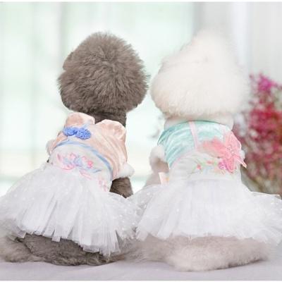 [봉봉펫닷컴] 공주풍 계량한복 옷