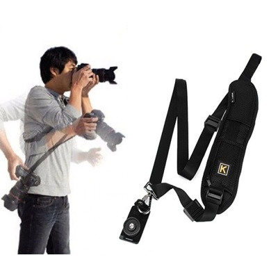 전문 야외 촬영 운반 휴대용 릴리스 넥 슬링 스트랩