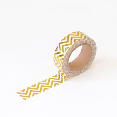왈가닥스 포일 마스킹테이프 - 57 Gold Zigzag