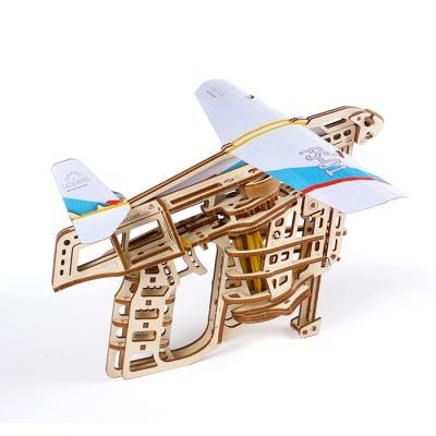 198피스 목재 입체퍼즐 - 유기어스 비행기 슈터
