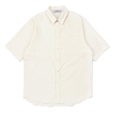 CB 빅 포켓 하프 셔츠 (아이보리)
