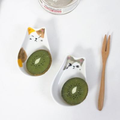 고양이 소스 종지 그릇 3세트