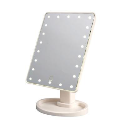 LED 22발 조명 화장 터치 거울