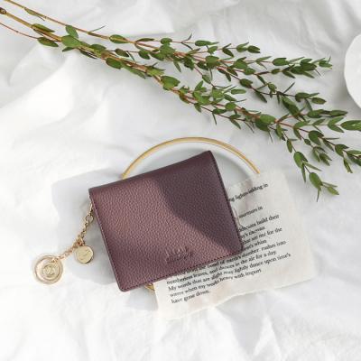 [키링 증정] D.LAB Vivienne Half Wallet - Purple