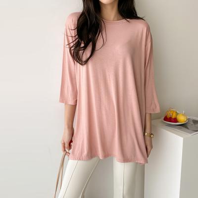 트임 롱 티셔츠 - 5가지 색상
