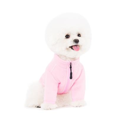 스니프 집업 플리스 (핑크)