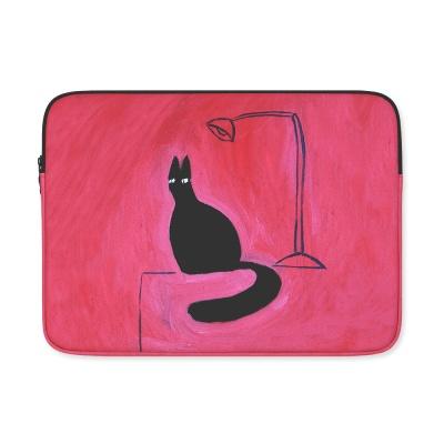 (11/13/15인치) Black Cat on the Desk
