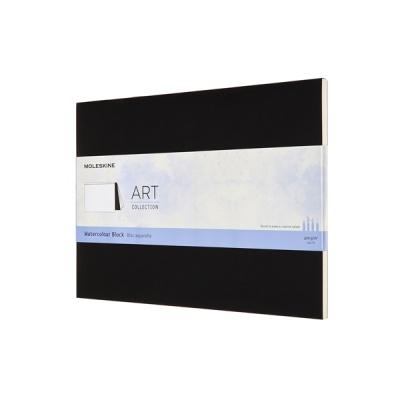 아트컬렉션-워터컬러 블럭/블랙 하드 23x31