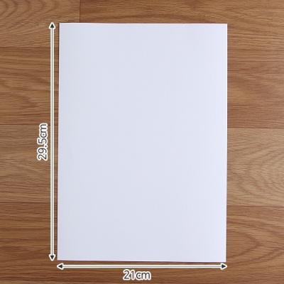 체크 무늬 잉크젯 인화지(A4-50매)