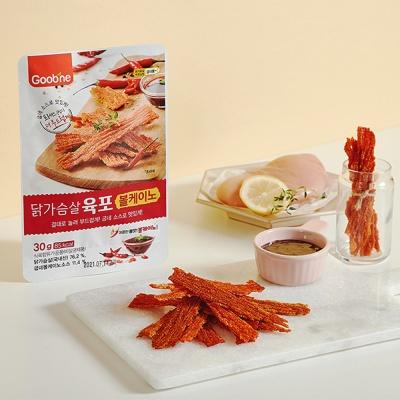 [굽네] 닭가슴살 육포 30g 2종 골라담기
