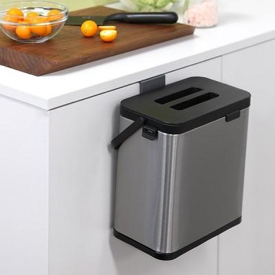 [N365] 푸코 스텐 주방 음식물 쓰레기통 3L