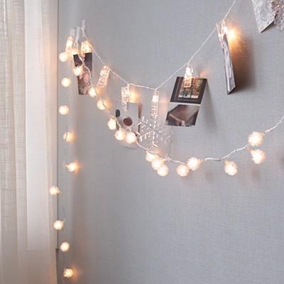 LED 눈꽃 전구