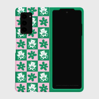 CHECK BABA-GREEN/PINK(Z폴드2-하드)