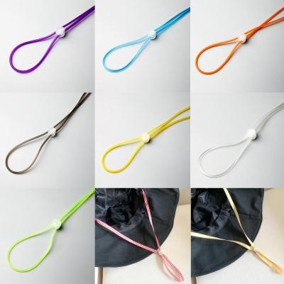 분실방지 체크 마스크 목걸이 길이조절 가능 스트랩끈