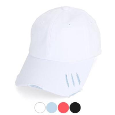 [디꾸보]빈티지 커팅 라인 바이저 볼캡 모자 H-HN391R